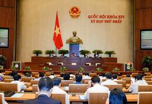 Kỳ họp thứ nhất, Quốc hội khoá XIV