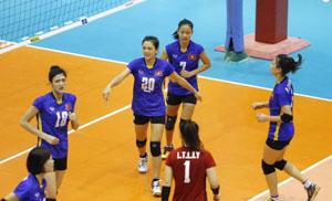 Lần đầu tiên trong lịch sử, tuyển nữ U-19 VN vào bán kết bóng chuyền nữ châu Á
