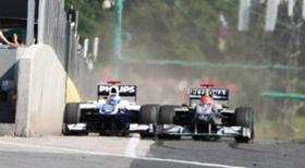 Màn so kè thót tim giữa Schumacher và Barrichello