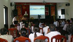 Trang thông tin điện tử Sở GD&ĐT Hoà Bình được giới thiệu tại Lễ khai trương