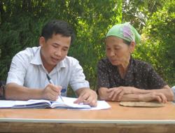 Trung tâm trợ giúp pháp lý tổ chức trợ giúp pháp lý lưu động tại xã Hợp Thành, huyện Kỳ Sơn