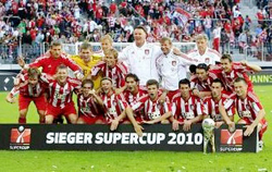 Bayern Munich có bước chạy đà hoàn hảo cho mùa bóng mới