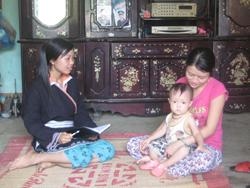 Phụ nữ dân tộc Dao được nâng cao nhận thức CSSKSS