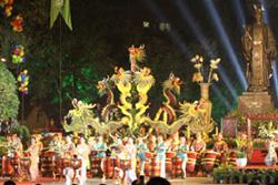 Biểu diễn trống hội Thăng Long