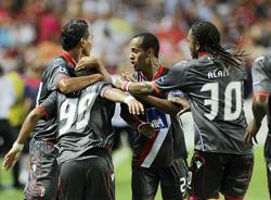 Braga tạo nên cú sốc lớn khi loại Sevilla khỏi Champions League mùa này