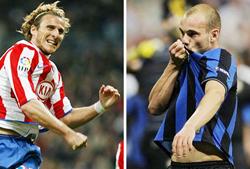 Sneijder và Forlan, hai ngôi sao lớn nhất của hai đội