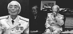 """Ảnh Đại tướng Võ Nguyên Giáp trong bộ ảnh """"Tướng trận thời bình"""" của Việt Văn"""