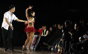 Phong trào dance sport ngày càng phát triển.