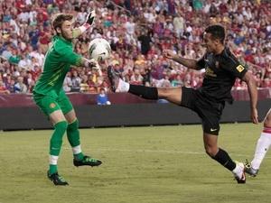 Thiago là cầu thủ nổi bật nhất trận M.U - Barca 2-1 (Nguồn: Getty)