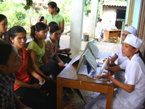 Phụ nữ trong độ tuổi từ 15 – 49 thường xuyên được tư vấn, CSSKSS miễn phí