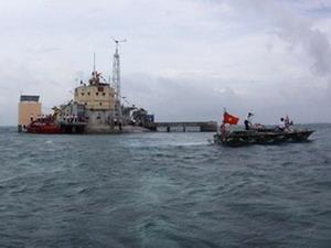 Đảo Đá Lớn thuộc quần đảo Trường Sa. Ảnh minh họa. (Nguồn: Thanh Vũ/TTXVN)