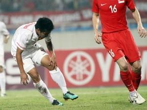 Việt Thắng từng bị chấn thương nghiêm trọng khi tham dự một giải đấu tiền AFF Cup (Nguồn: VSI)