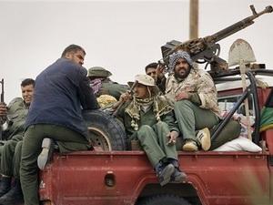Quân nổi dậy Libya. Ảnh minh họa. (Nguồn: Internet)