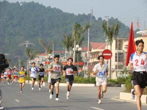 Các mùa giải việt dã đã thu hút sự tham gia đông đảo của các VĐV trẻ từ các đơn vị trong tỉnh.