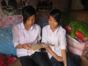 Trường PTDTNT huyện Đà Bắc tạo mọi điều kiện thuận lợi cho học sinh vùng co trong học tập, sinh hoạt.