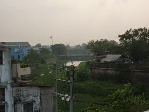Các hộ dân sinh sống trong khu di tích Thượng thành Đại nội Huế. (Nguồn: Internet)