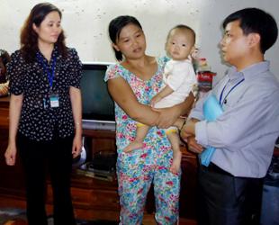 Giám sát dịch bệnh tay, chân, miệng tại phường Tân Hòa, TPHB