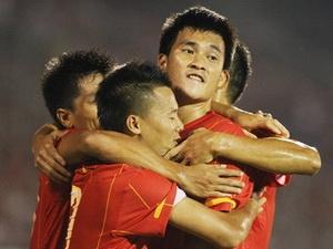 Đội tuyển Việt Nam thăng tiến mạnh mẽ.