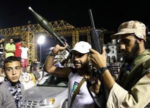 Các tay súng thuộc lực lượng đối lập.