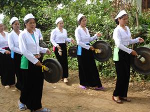 Văn hóa cồng chiêng - nét văn hóa đặc sắc của vùng quê Mường Động - Kim Bôi được lưu giữ và phát huy trong quá trình xây dựng NTM.