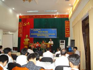 Hội nghị báo cáo kinh nghiệm xây dựng cơ sở an toàn dịch bệnh động vật.