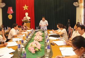 Ban VSTBPN tỉnh khảo sát tình hình thực hiện Chiến lược quốc gia về bình đẳng giới trên địa bàn huyện Kỳ Sơn.
