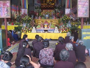 Việc Hòa Bình Phật Quang tự tổ chức lễ Vu Lan đã đáp ứng nhu cầu sinh hoạt văn hóa tâm linh của phật tử trong và ngoài tỉnh.