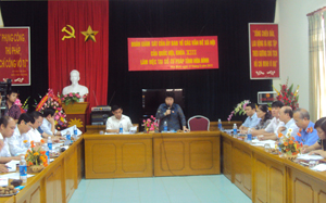 Đồng chí Nguyễn Thúy Anh, Phó Chủ nhiệm Ủy ban về các vấn đề xã hội của Quốc hội phát biểu kết luận buổi giám sát.