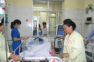 Bệnh nhân được điều trị tại Bệnh viện Đa khoa tỉnh bằng các thuốc đấu thầu tập trung.