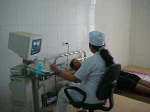 Bệnh viện Đa khoa huyện Yên Thuỷ đầu tư trang thiết bị y tế hiện đại nhằm không ngừng nâng cao chất lượng điều trị, chăm sóc sức khoẻ cho người bệnh.