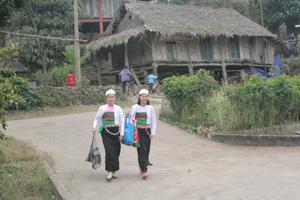 Bản Giang Mỗ, xã Bình Thanh (Cao Phong) lưu giữ  nhiều nét văn hoá truyền thống của dân tộc Mường thu hút du khách trong nước và quốc tế.