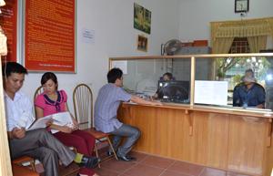 Nhằm xây dựng cơ quan văn hóa, UBND thị trấn Kỳ Sơn quan tâm xây dựng văn hóa ứng xử trong đội ngũ cán bộ, công chức.