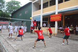Một trận thi đấu của giải.