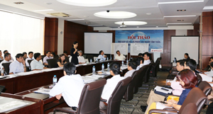 65 đại biểu đại diện cho các Sở LĐ-TB&XH trên toàn quốc tham dự hội thảo.