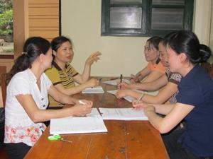 Huyện Lương Sơn có tỷ lệ nữ là lãnh đạo quản lý ngành giáo dục chiếm 70%.