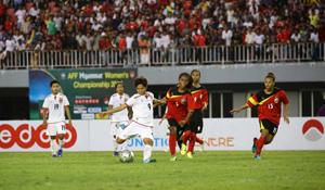 Yee Yee Oo - chân sút nguy hiểm của đội tuyển nữ Myanmar