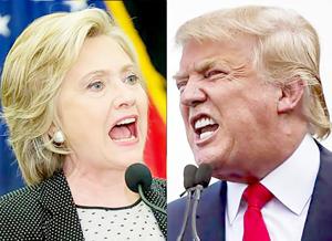 Chính thức bắt đầu cuộc đua song mã vào Nhà Trắng giữa Hillary Clinton và Donald Trump