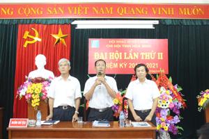 BCH Chi hội Nhạc sỹ Việt Nam tỉnh nhiệm kỳ 2016 – 2021 ra mắt đại hội.