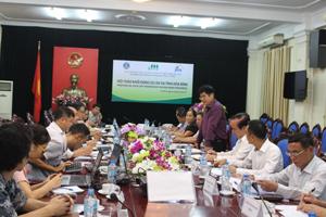 Đồng chí Nguyễn Văn Dũng, Phó Chủ tịch UBND tỉnh phát biểu kết luận hội thảo.