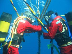 Xử lý sự cố cáp quang biển (ảnh minh họa).