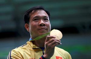 Hoàng Xuân Vinh đã giúp thể thao Việt Nam lần đầu tiên giành HCV tại Olympic