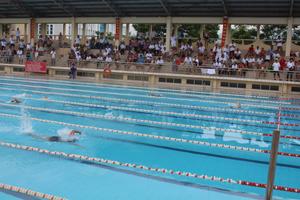 Các VĐV thi đấu nội dung 50 m tự do
