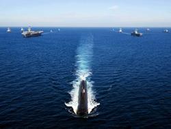 Tàu chiến Mỹ và Hàn Quốc tập trận tại vùng biển phía đông Hàn Quốc