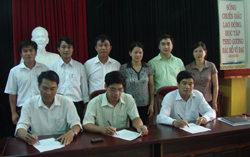 Các ngành ký kết liên tịch Giải việt dã truyền thống cúp Báo Hòa Bình lần thứ 19 - năm 2010