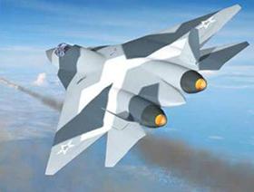 Máy bay tiêm kích PAK-FA của Nga.
