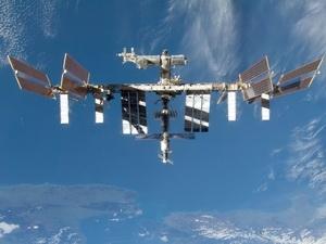 Trạm vũ trụ quốc tế ISS sau khi tàu con thoi Discovery tách khỏi.