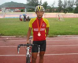 VĐV Phạm Ngọc Thạch luôn cố gắng để giành được thành tích cao trong thi đấu