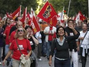 Biểu tình tại Tây Ban Nha.