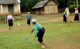 Người dân Lạc Sơn đẩy mạnh các phong trào hoạt động thể thao