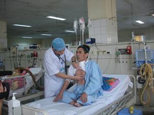Bệnh viện đa khoa tỉnh được đầu tư nhiều trang thiết bị hiện đại góp phần nâng cao chất lượng KCB.